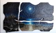 Chiaro  di luna (56x87 cm.)
