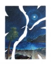 Notte di luna piena (60x75 cm)